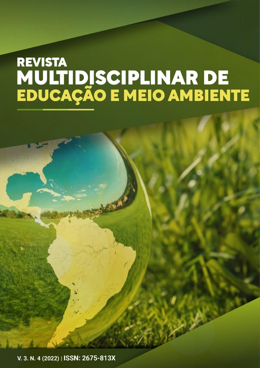 Edição Atual da Revista Multidisciplinar de Educação e Meio Ambiente